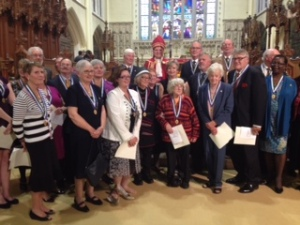 Group Photo of ON recipients