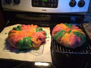 Kings Cake, looking very tasty!